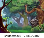 ancient forest | Shutterstock . vector #248109589