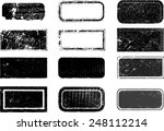 set of grunge rubber stamps.  | Shutterstock .eps vector #248112214