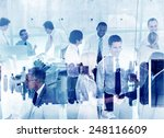 Small photo of Business People Working Togetherness Teamwork Support Partnership Company