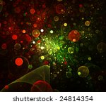 Abstract Bubbles Background....