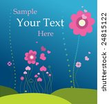 spring. romantic meadow. | Shutterstock .eps vector #24815122