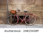 Old Vintage Italian Bicycle...