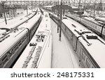 moscow region  lobnya   january ...   Shutterstock . vector #248175331