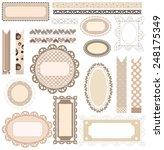 coffee templates | Shutterstock .eps vector #248175349