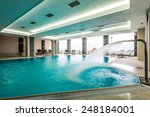 luxury swimming pools in a... | Shutterstock . vector #248184001
