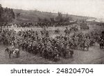 2nd Indian Cavalry WW1 in the Battle of the Somme. The cavalry charge of July 14, 1916 was conducted the 20th Deccan Horse and the British Seventh Dragoon Guards.