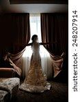 Silhouette Of The Bride...
