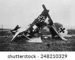 Wreckage Of A Ww1 German...