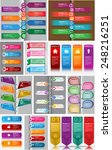 colorful modern text box... | Shutterstock .eps vector #248216251
