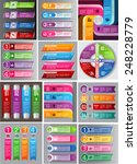 colorful modern text box... | Shutterstock .eps vector #248228779