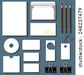 vector business set of... | Shutterstock .eps vector #248237479