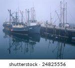 Fishing Boats And Pier At...