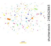 abstract background with many... | Shutterstock .eps vector #248262865