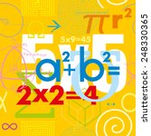 mathematical formulas and... | Shutterstock .eps vector #248330365