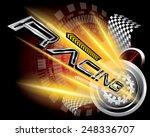 racing concept vector | Shutterstock .eps vector #248336707
