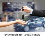 auto business  car sale ... | Shutterstock . vector #248344501