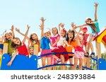 happy children | Shutterstock . vector #248393884