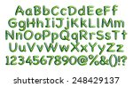 complete alphabet with digit... | Shutterstock . vector #248429137