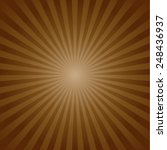 brown color burst background.... | Shutterstock .eps vector #248436937