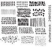 vector illustration of a set of ... | Shutterstock .eps vector #248451031