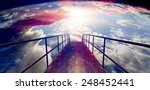 abstract background sunset and... | Shutterstock . vector #248452441