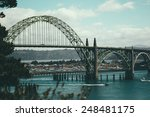Scene Of A Beautiful Bridge In...