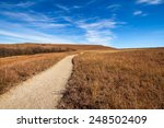 konza prairie is an 8 600 acre... | Shutterstock . vector #248502409
