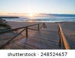 Sunrise On Scenic Guardamar...