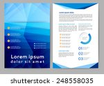 abstract colored brochure...   Shutterstock .eps vector #248558035