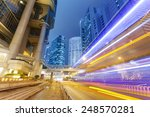 traffic in the financial... | Shutterstock . vector #248570281