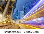 traffic in the financial...   Shutterstock . vector #248570281