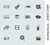 set of icons | Shutterstock .eps vector #248572489