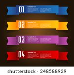 colorful modern text box... | Shutterstock .eps vector #248588929