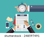 competitive business concept | Shutterstock .eps vector #248597491