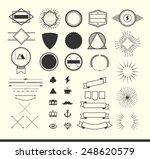 set of vintage elements for... | Shutterstock .eps vector #248620579
