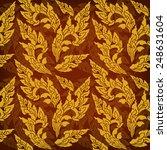 thailand pattern seamless vector | Shutterstock .eps vector #248631604