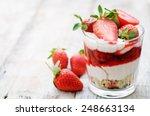 Layered Dessert With...
