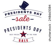 Presidents Day Sale Icon...