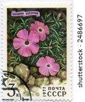 vintage postage stamp world ephemera russia yugoslavia - stock photo
