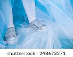 legs of little girl in princess ... | Shutterstock . vector #248673271