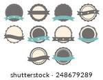 set of badges  labels and logo... | Shutterstock .eps vector #248679289