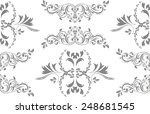floral background seamless... | Shutterstock .eps vector #248681545