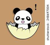 a cartoon illustration of a... | Shutterstock .eps vector #248697004