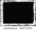 grunge frame.distress frame... | Shutterstock .eps vector #248711491