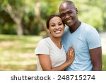 beautiful african american... | Shutterstock . vector #248715274