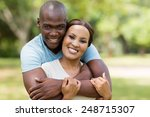 good looking african man... | Shutterstock . vector #248715307