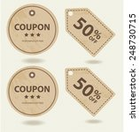 promotions big sale tags vector ... | Shutterstock .eps vector #248730715