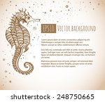 vintage background with... | Shutterstock .eps vector #248750665