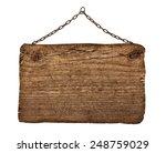 close up of an empty wooden... | Shutterstock . vector #248759029