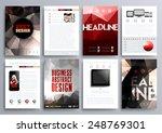 set of design templates for... | Shutterstock .eps vector #248769301